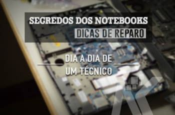 Como testar o botão de power do notebook?